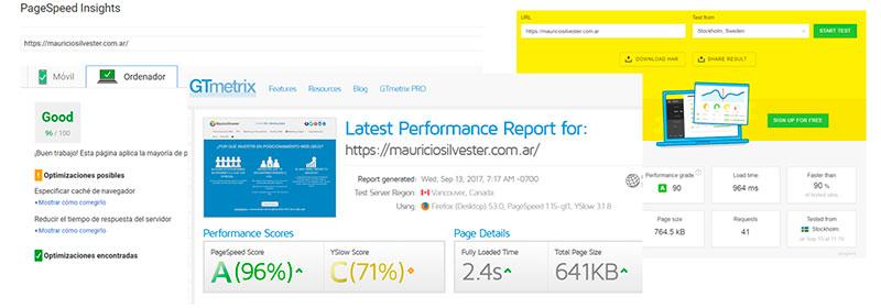 Herramientas para medir la Velocidad de Carga de un Sitio Web